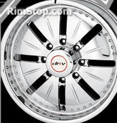 Driv Debut style D206 replacement center cap - Wheel/Rim centercaps for Driv Debut style D206