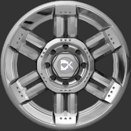 DK DK5 replacement center cap - Wheel/Rim centercaps for DK DK5