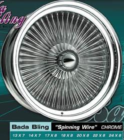 elwire bada bling Wheel/Rim replacement custom wheel for sale elwire bada bling forsale