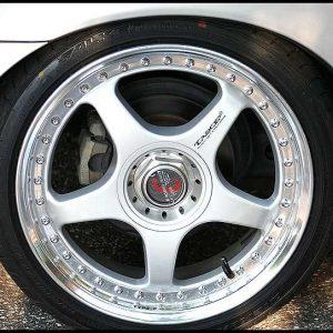 RacingHart Type CR replacement center cap - Wheel/Rim centercaps for RacingHart Type CR