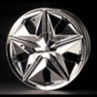 Enkei Crank replacement center cap - Wheel/Rim centercaps for Enkei Crank