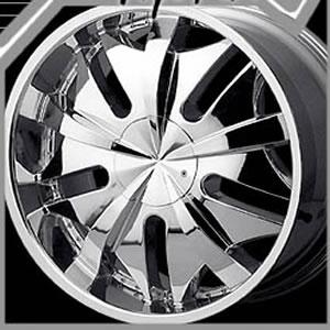 Zenetti Duece replacement center cap - Wheel/Rim centercaps for Zenetti Duece