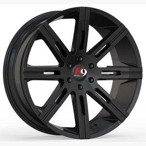 K9 Alloys Dobe replacement center cap - Wheel/Rim centercaps for K9 Alloys Dobe