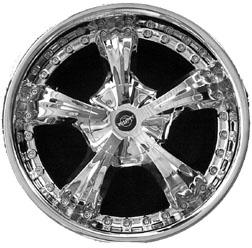 Sinister Legend replacement center cap - Wheel/Rim centercaps for Sinister Legend