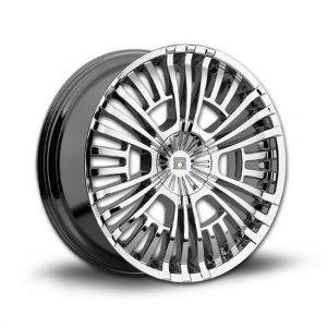 Omega RoyalHeart replacement center cap - Wheel/Rim centercaps for Omega RoyalHeart