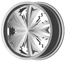 Mizati S731 replacement center cap - Wheel/Rim centercaps for Mizati S731