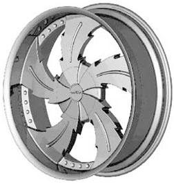 Mizati S832 replacement center cap - Wheel/Rim centercaps for Mizati S832