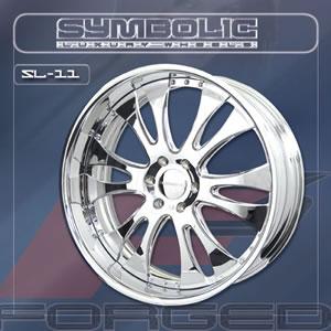 Symbolic SL11 replacement center cap - Wheel/Rim centercaps for Symbolic SL11