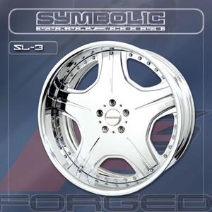 Symbolic SL3 replacement center cap - Wheel/Rim centercaps for Symbolic SL3