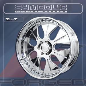 Symbolic SL7 replacement center cap - Wheel/Rim centercaps for Symbolic SL7