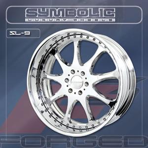 Symbolic SL9 replacement center cap - Wheel/Rim centercaps for Symbolic SL9